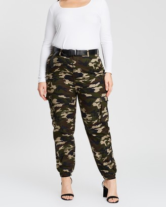 Mika Muse Harlow High-Waisted Utility Pants