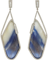 Monique Péan Women's Diamond & Sapphire Slice Earrings
