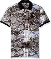 Just Cavalli Men's Snake Tie Die Polo Shirt