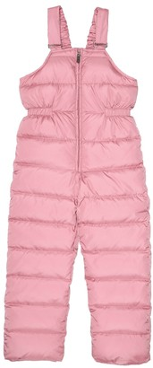 Il Gufo Down puffer dungarees