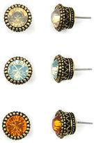 Arizona 6-pc. Multi Color Earring Sets
