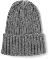 Beams Ribbed Wool Beanie