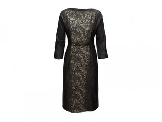 Prada Brown Lace Dresses
