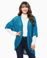 Charming charlie Crocheted Open Cardigan
