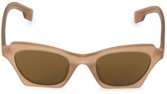 Burberry 49MM Square Sunglasses