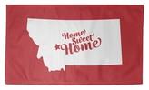 Helena Home Sweet Red Area Rug East Urban Home Rug Size: Rectangle 2' x 3'