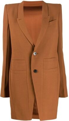 Rick Owens Structured Shoulder Jacket