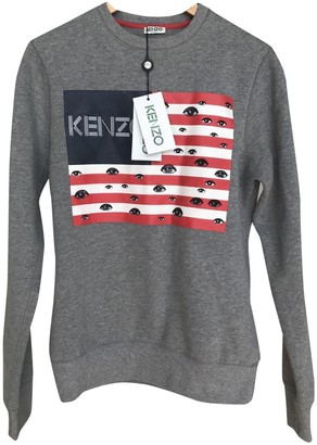 Kenzo Grey Cotton Knitwear for Women