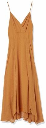 ASTR the Label Women's Sleeveless Lyric Surplice V Neck MIDI Dress