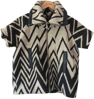 American Retro Black Wool Jacket for Women