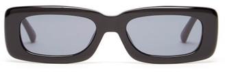 Linda Farrow X The Attico Mini Marfa Acetate Sunglasses - Black