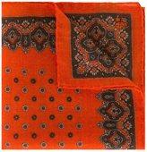 Canali patterned pocket handkerchief