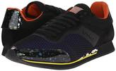 Etro Mesh Overlay Canvas Runner Sneaker