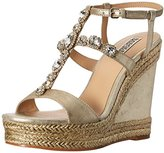 Badgley Mischka Women's Coco Espadrille Wedge Sandal