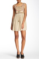 Raga Sleeveless Embroidered Short Dress