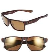 Nike Women's 'Mavrk' 59Mm Sunglasses - Matte Black/ Electro Purple