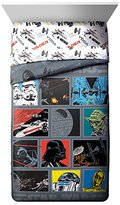 Star Wars Classic Death Star Twin/Full Reversible Comforter Black/Gray/Red