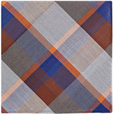 Simonnot Godard Men's Plaid Cotton Handkerchief