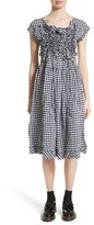 Comme des Garcons Women's Gingham Check Dress