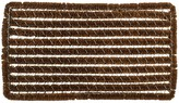 Rectangle Stripes Wire Brush Doormat