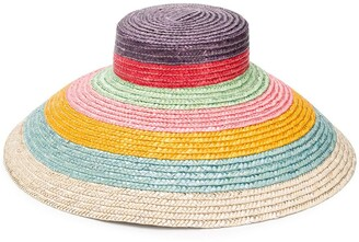 Missoni Mare Striped Sun Hat