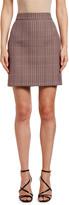 MSGM Gonna Plaid Mini Skirt