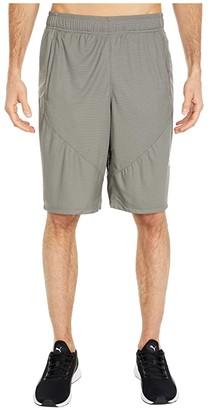 Puma Cat Shorts Black White) Men's Shorts