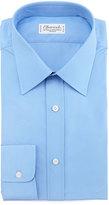 Charvet BLUE POPELINE SOLID BC SHRT