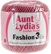 Coats Crochet & Floss Coats Crochet and Floss Aunt Lydia's Fashion Crochet, Cotton Size 3