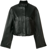 3.1 Phillip Lim zipped biker jacket