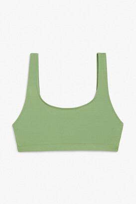 Monki Sporty bikini top
