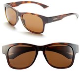 Smith Optics Women's 'Wayward' 54Mm Polarized Sunglasses - Black/ Polar Gray Green