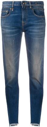 R 13 Boy Skinny mid-rise jeans