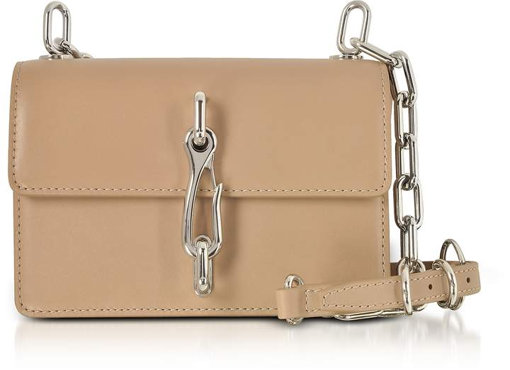 Alexander Wang Hook Nude Leather Small Crossbody Bag