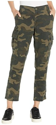 Blank NYC Tencel Cropped Straight Leg Cargo Pants (March On) Women's Casual Pants