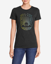 Eddie Bauer Women's Graphic T-Shirt - Pacific Northwest Sunset