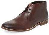 Ben Sherman Round-Toe Leather Chukka Boot
