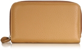 Fontanelli Leather Zip-Around Wallet
