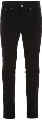 Represent Distressed Biker Jeans