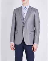 Armani Collezioni Hopsack Woven Jacket