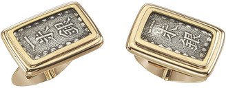 Jorge Adeler Men's 18K Gold Ancient Samurai Coin Cufflinks