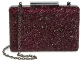 Sole Society Gladice Crystal Minaudiere - Red