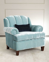 Haute House Smith Channel-Tufted Chair