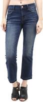 J Brand Selena Mid-Rise Crop Boot Cut Jean in Undertow