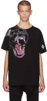 Marcelo Burlon County of Milan Black Teukenk T-shirt