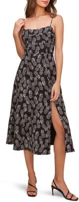 ASTR the Label Keilani Sleeveless Midi Dress