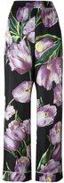 Dolce & Gabbana tulip print twill pyjama pants