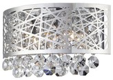 Lite Source Benedetta Wall Light - Silver