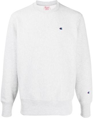 Champion Crew Neck Logo Sweatshirt
