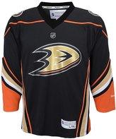 Reebok Anaheim Ducks NHL Big Boys Youth Team Replica Jersey, Black